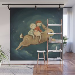Bunny Kids by Emily Winfield Martin Wall Mural