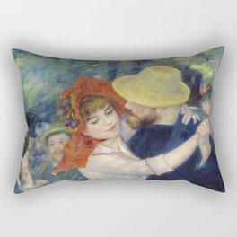 Pierre-Auguste Renoir - Dance at Bougival Rectangular Pillow
