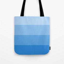 Four Shades of Light Blue Tote Bag