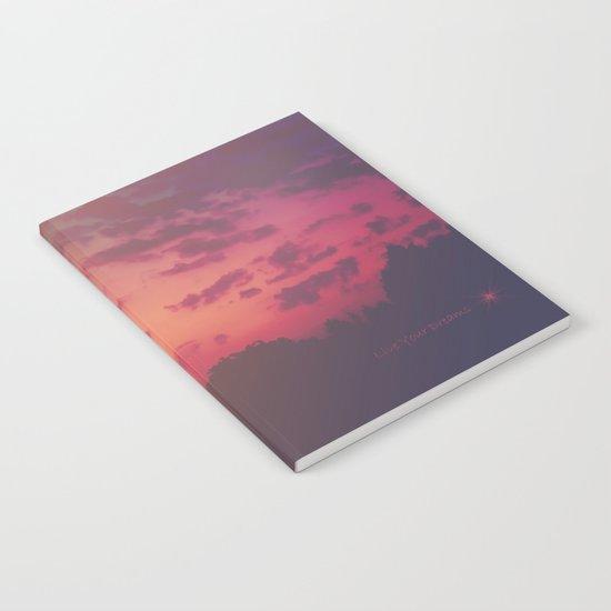 Love Runs Out Notebook