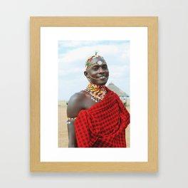 Masai  Framed Art Print