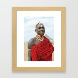Masai  Framed Art Print