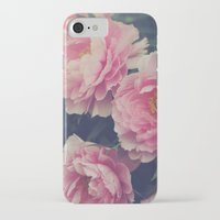 peonies iPhone & iPod Cases featuring Peonies  by Kameron Elisabeth