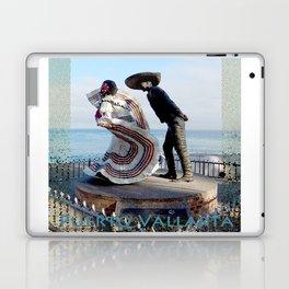 Puerto Vallarta, Mexico Sculpture by the Sea Laptop & iPad Skin