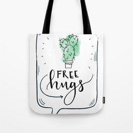 Cactus Free Hugs Tote Bag