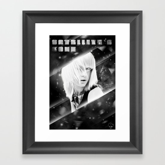 Satellite's gone Framed Art Print