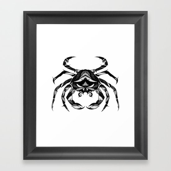 Signs of the Zodiac - Cancer Framed Art Print