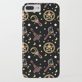 magical neon pattern  iPhone Case