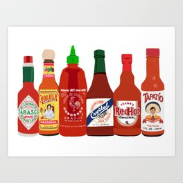 Hot Sauce In My Bag Art Print
