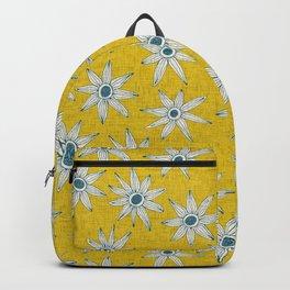 sema yellow blue Backpack