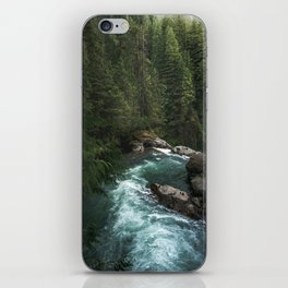 The Lost River - Pacific Northwest iPhone Skin
