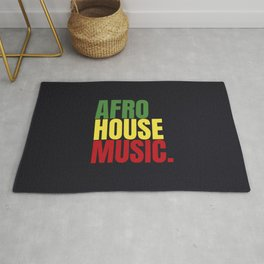 Afro house Rug