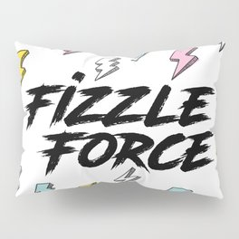 Fizzle Force Lightning Bolt Pillow Sham