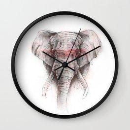 RED STRIPE Wall Clock