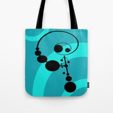 Bubble Man Tote Bag