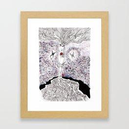 Motherhood, no beginning and no end Framed Art Print