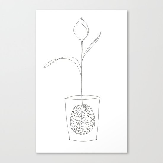 a new idea Canvas Print