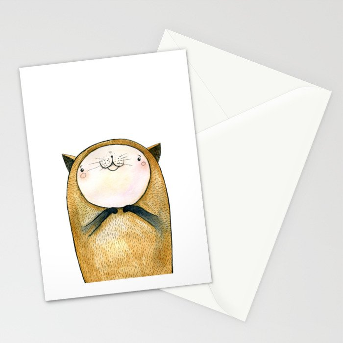 cutie cat Stationery Cards