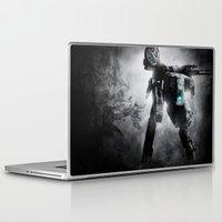metal gear Laptop & iPad Skins featuring Metal Gear by Hisham Al Riyami