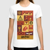 potter T-shirts featuring Potter by Polvo