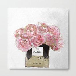 Pink Scented Metal Print