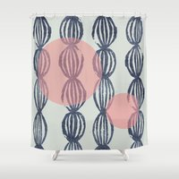 potato Shower Curtains featuring Potato by LutraLutraCards