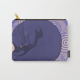 Sleeping MoonCat Carry-All Pouch