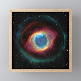 Helix (Eye of God) Nebula Framed Mini Art Print