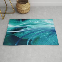 Lily Blue Rug