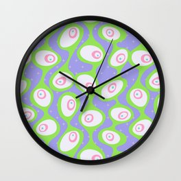 Googly Eyes Wall Clock