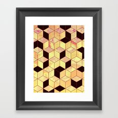 Geometrical Force #1 Framed Art Print
