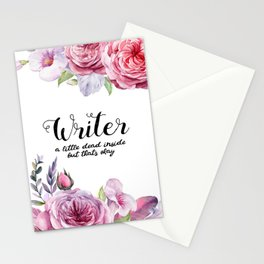 Writer Little Dead Inside Stationery Cards