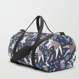 Girls in space Duffle Bag