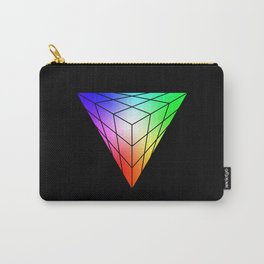 Triangle vs. Cube Carry-All Pouch