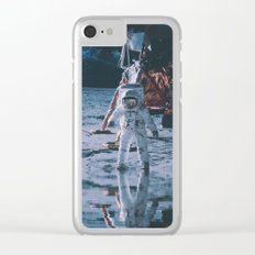 Project Apollo - 9 Clear iPhone Case
