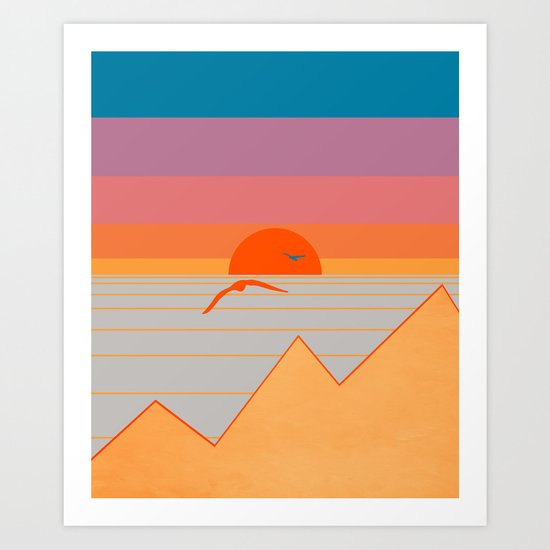Minimal Sunset 17 by vivianagonzlez