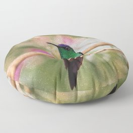 Bird - Photography Paper Effect 001 Floor Pillow