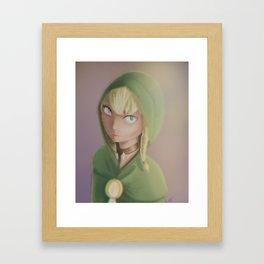 Linkle - Hyrule Warriors Framed Art Print