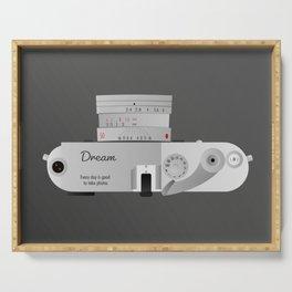 The dream Camera. Leica Serving Tray