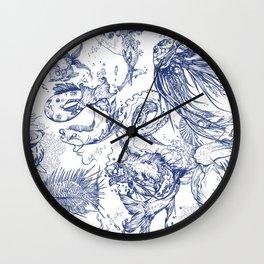 Ocean scene Wall Clock