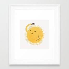 Good Morning, Sunshine Framed Art Print