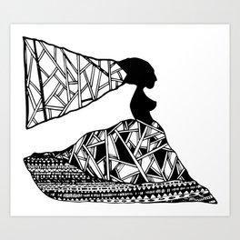 FEMELLE Art Print