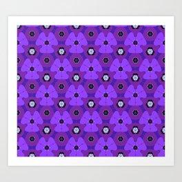 So Purple Art Print