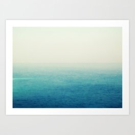 The Big Blue Art Print