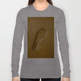 Leave Only Footprints Long Sleeve T-shirt