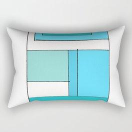 Brick Wall Rectangular Pillow