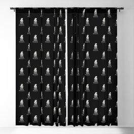 balance pebble art Blackout Curtain