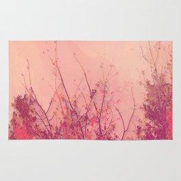 Lost in Pink (Carmine Pink Botanic Garden) Rug