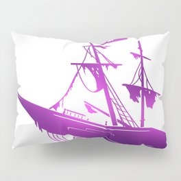Pirate Ship Pillow Sham