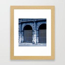 LOVERS - Rome - Italy  Framed Art Print
